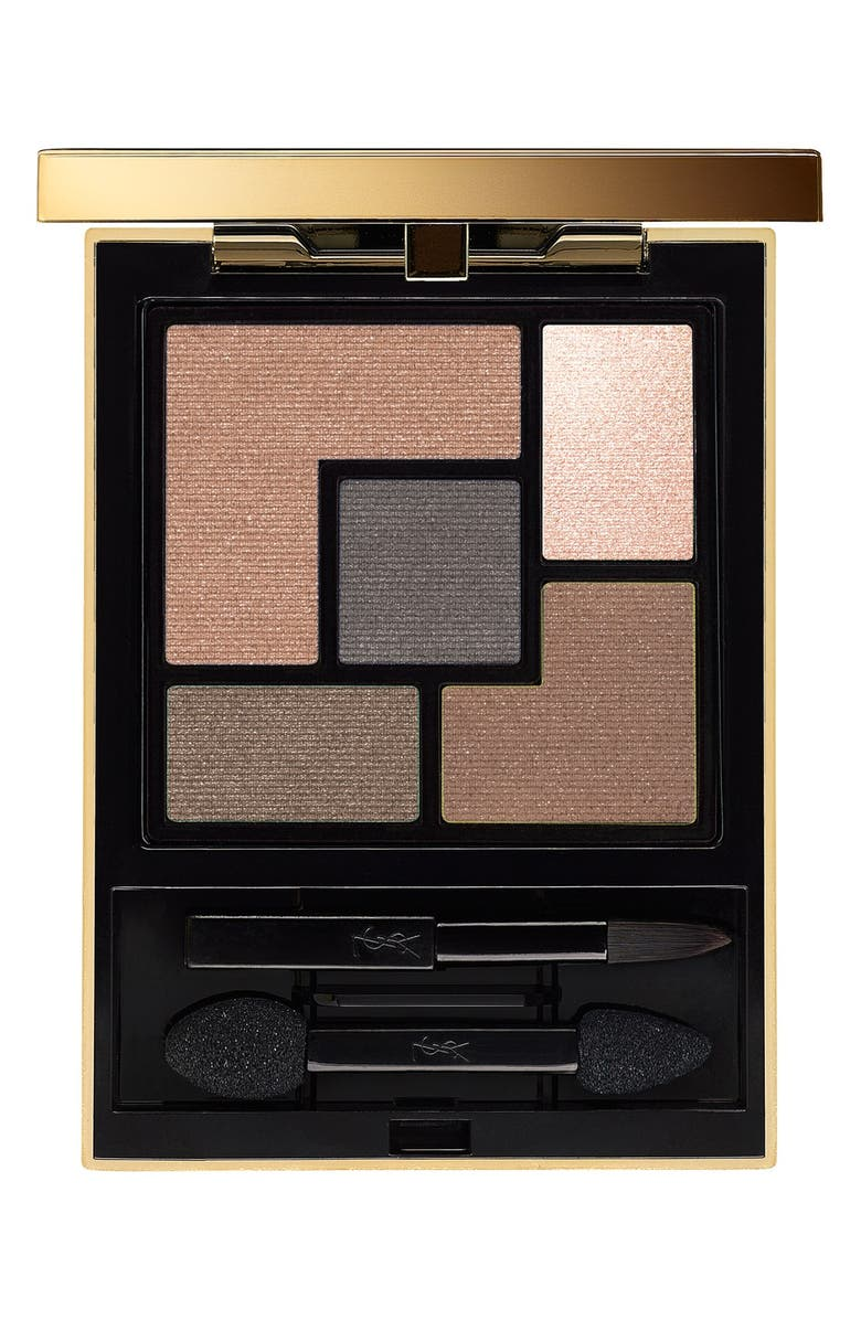 YVES SAINT LAURENT 5 Color Couture Palette, Main, color, 02 FAUVES