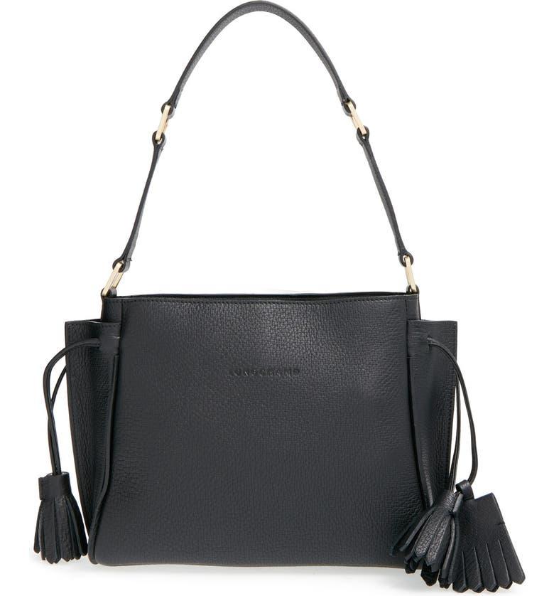 95d5dc4d3b Longchamp 'Penelope' Leather Shoulder Bag | Nordstrom