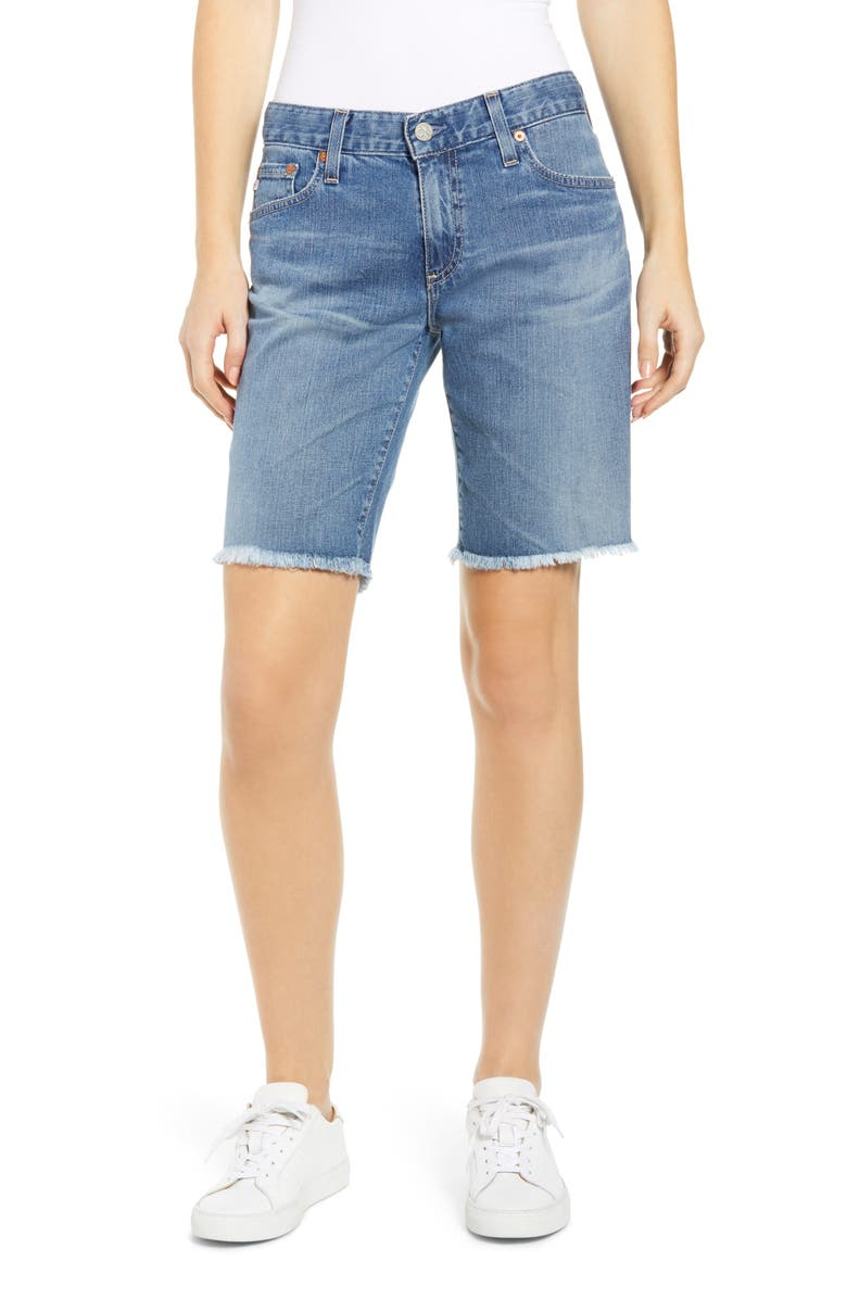 AG Nikki Relaxed Bermuda Shorts, Main, color, 18 YEAR AMBROSIAL