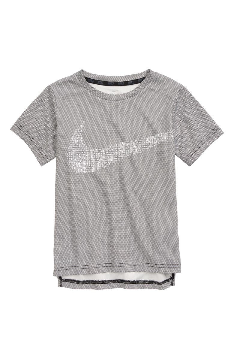 NIKE Dry Statement Performance Top, Main, color, BLACK
