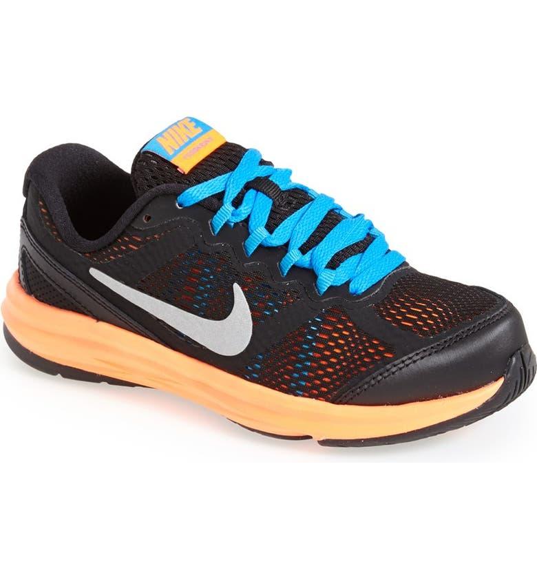 NIKE 'Dual Fusion Run 3' Athletic Shoe, Main, color, 001