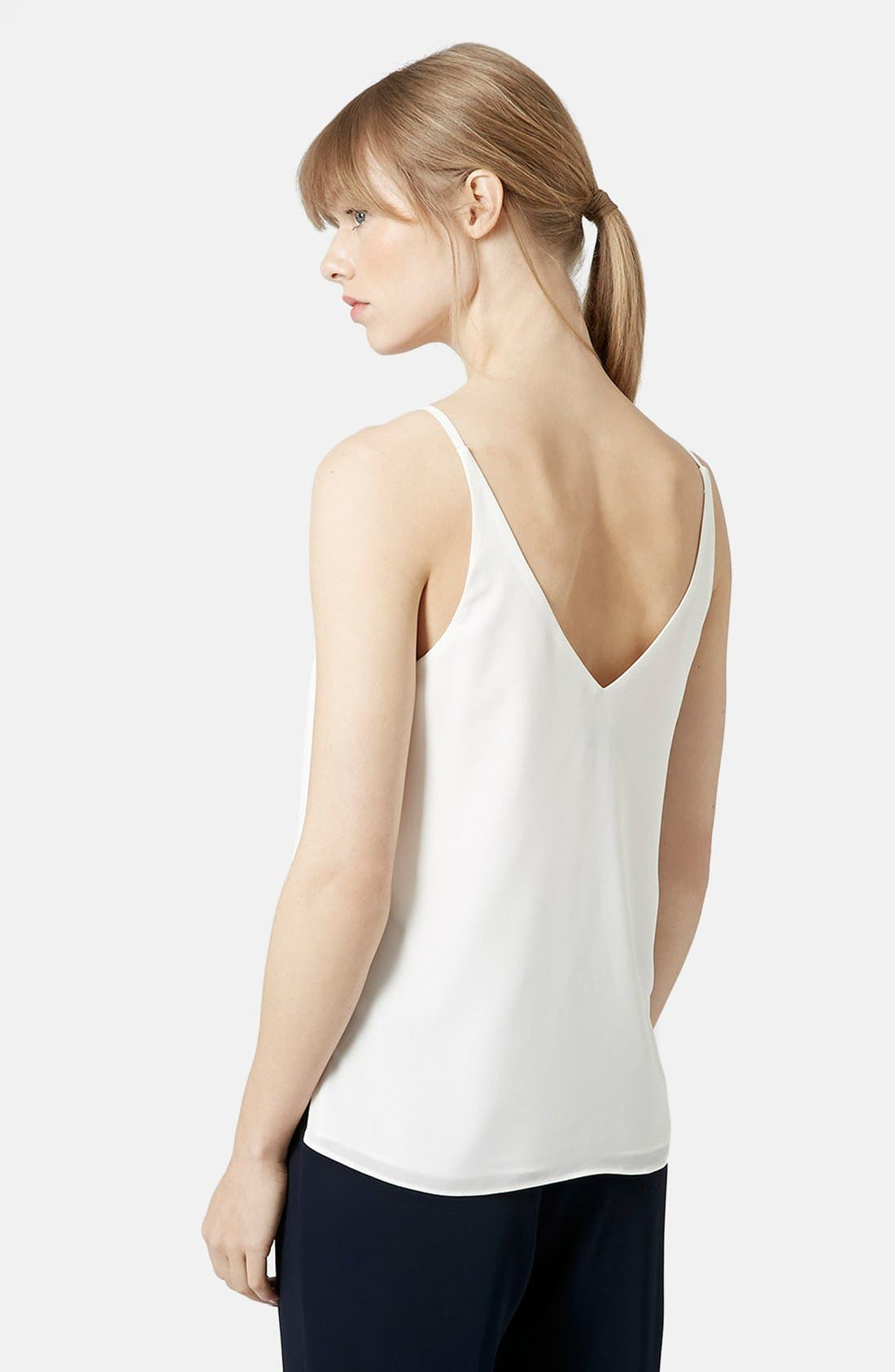 ,                             Strappy V-Neck Camisole,                             Alternate thumbnail 85, color,                             900