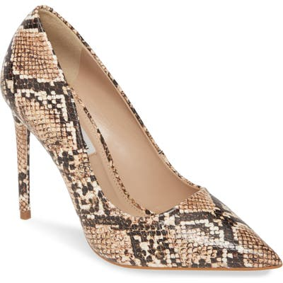 Steve Madden Vala Pointy Toe Pump- Brown