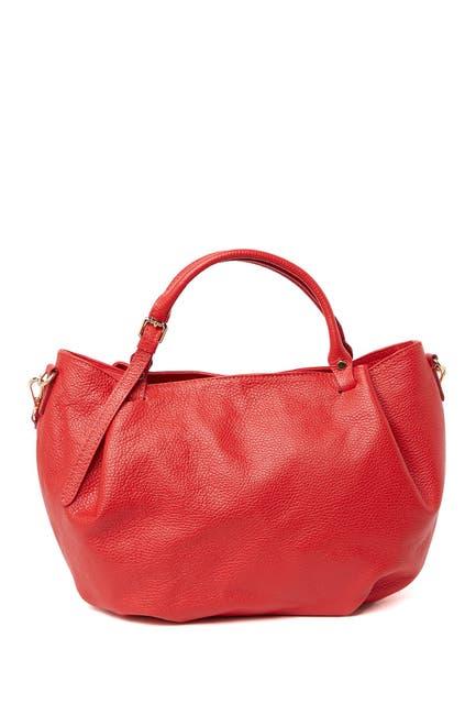 Image of Giorgio Costa Leather Top Handle Satchel Bag