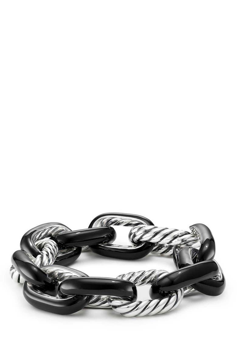 DAVID YURMAN Madison Bracelet, Main, color, SILVER/ BLACK