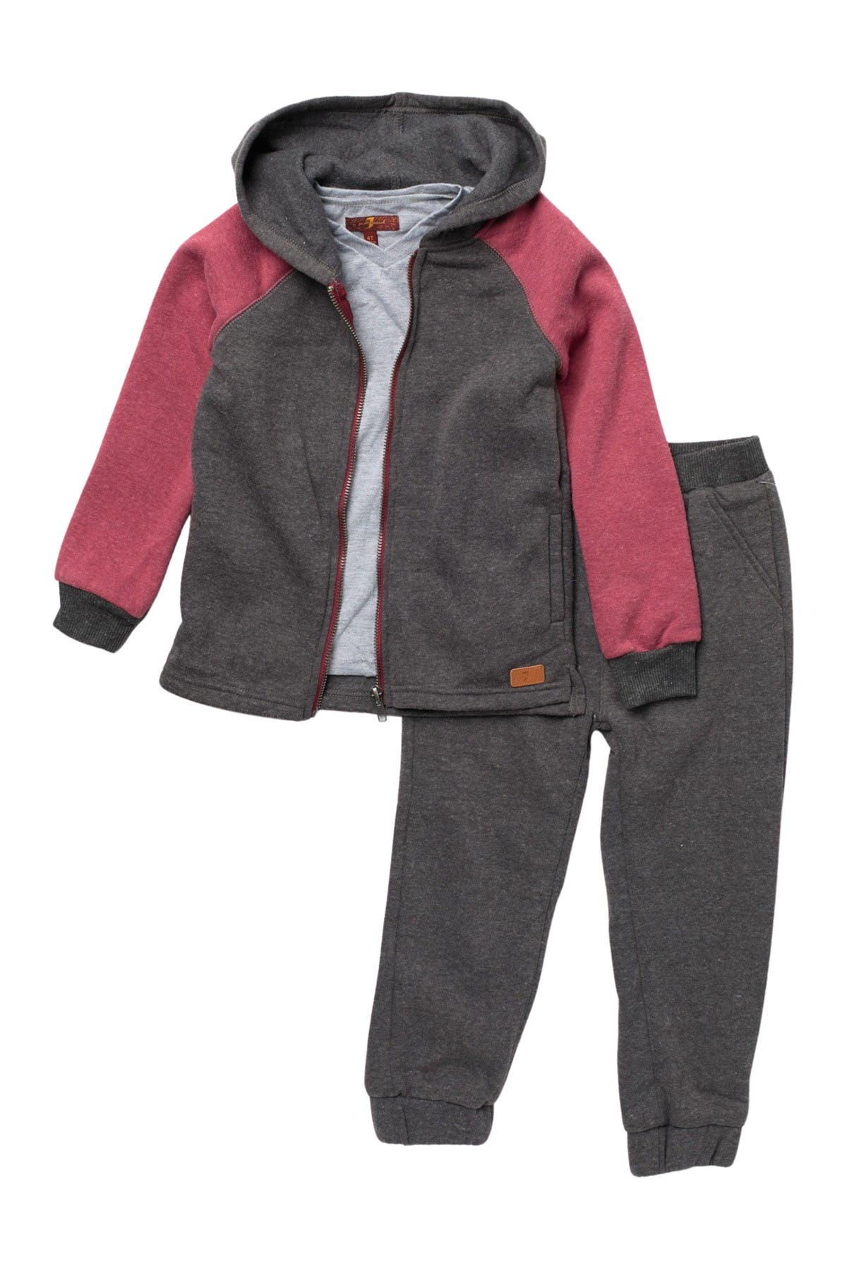 Image of 7 For All Mankind Shirt, Jacket, & Pants 3-Piece Set