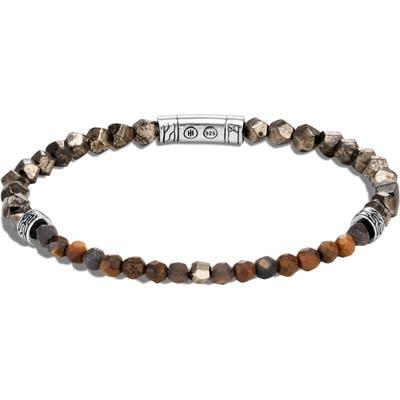 John Hardy Classic Chain m Pyrite Bracelet