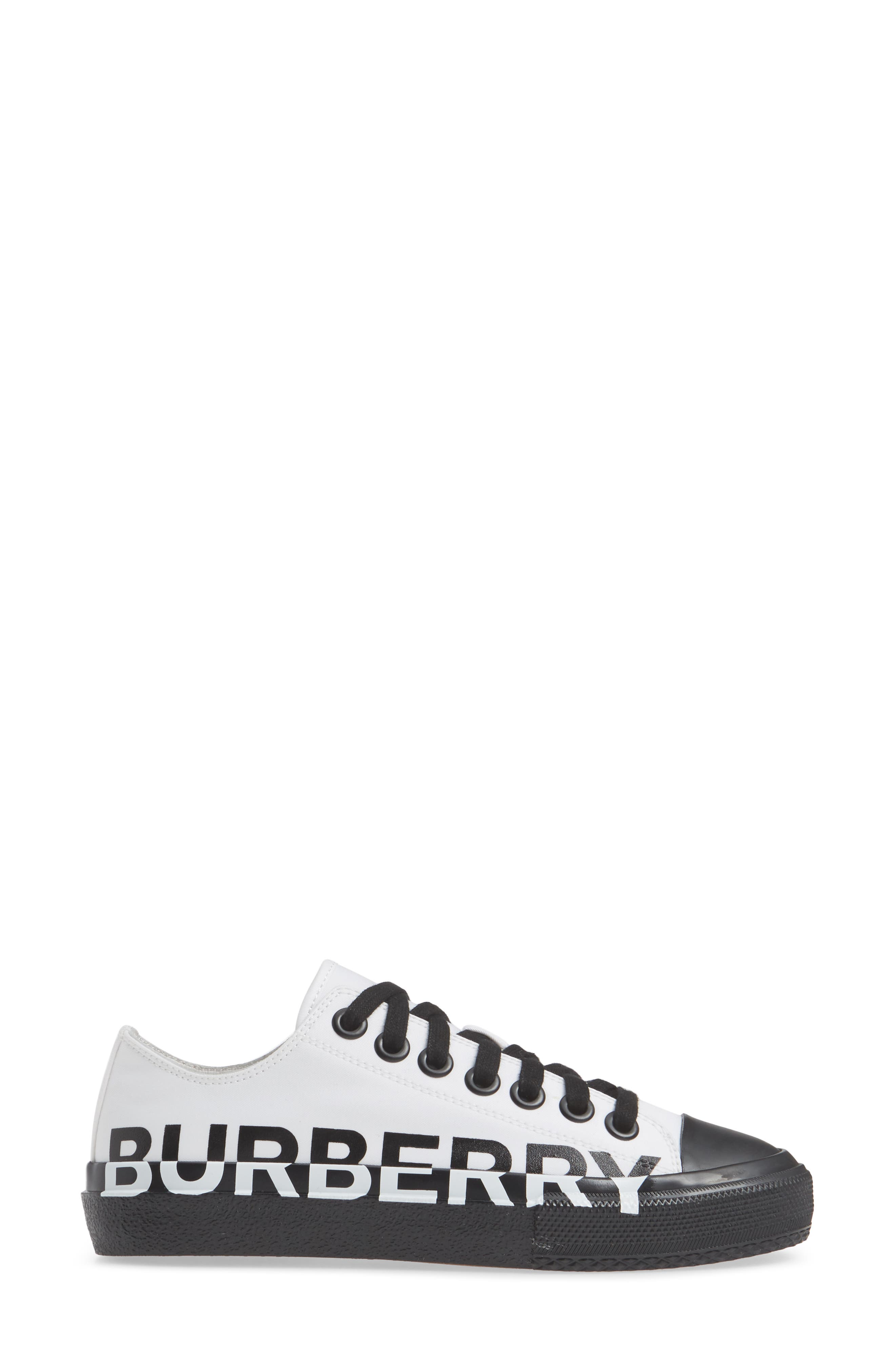 ,                             Larkhall Graphic Logo Sneaker,                             Alternate thumbnail 3, color,                             WHITE/ BLACK