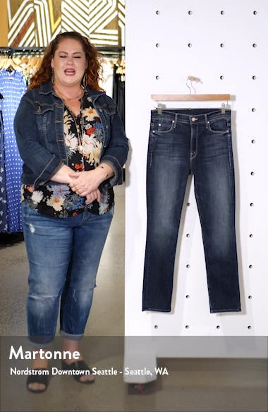 The Dazzler Ankle Straight Leg Jeans, sales video thumbnail