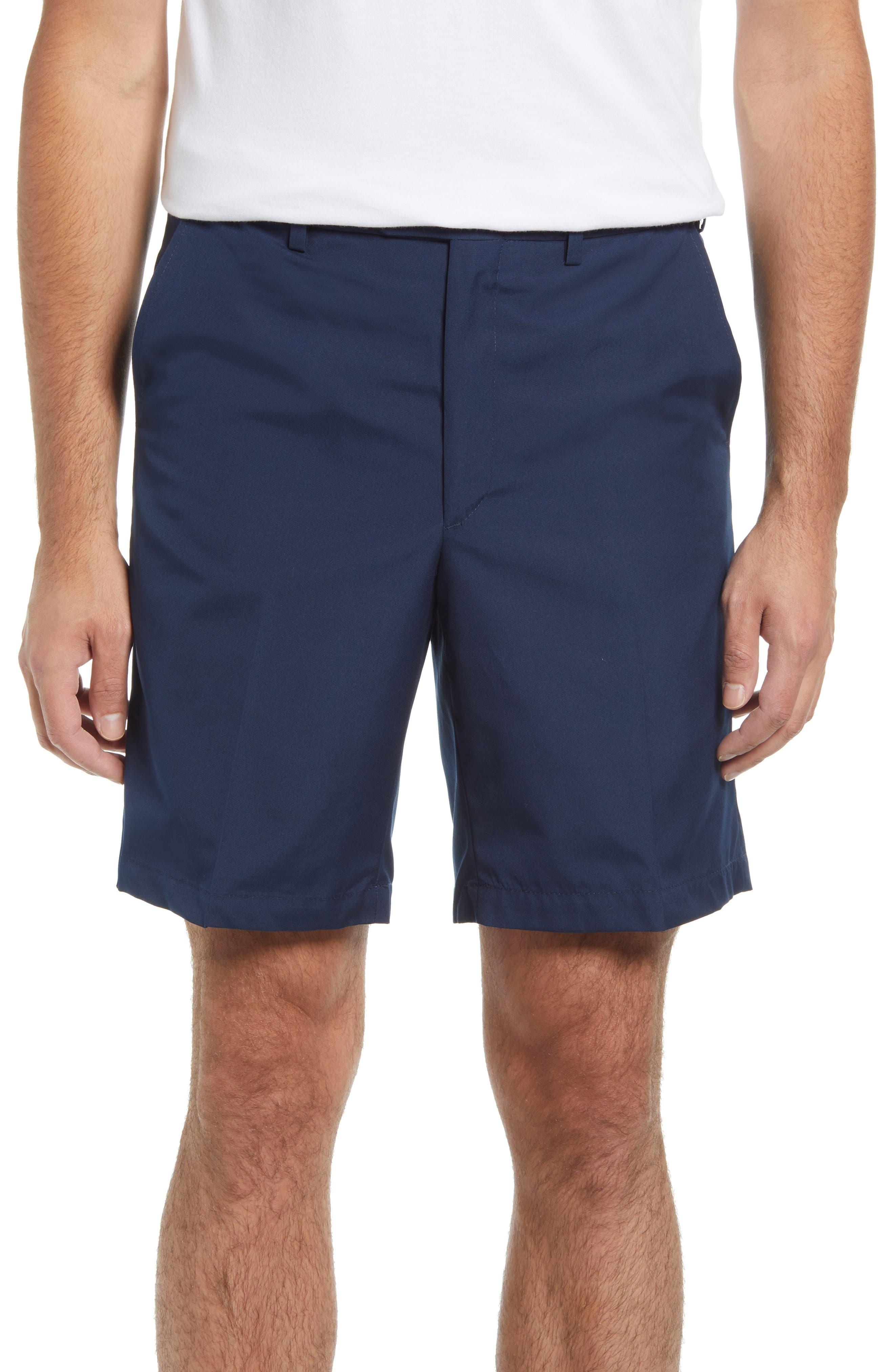 Prime Flat Front Poplin Shorts