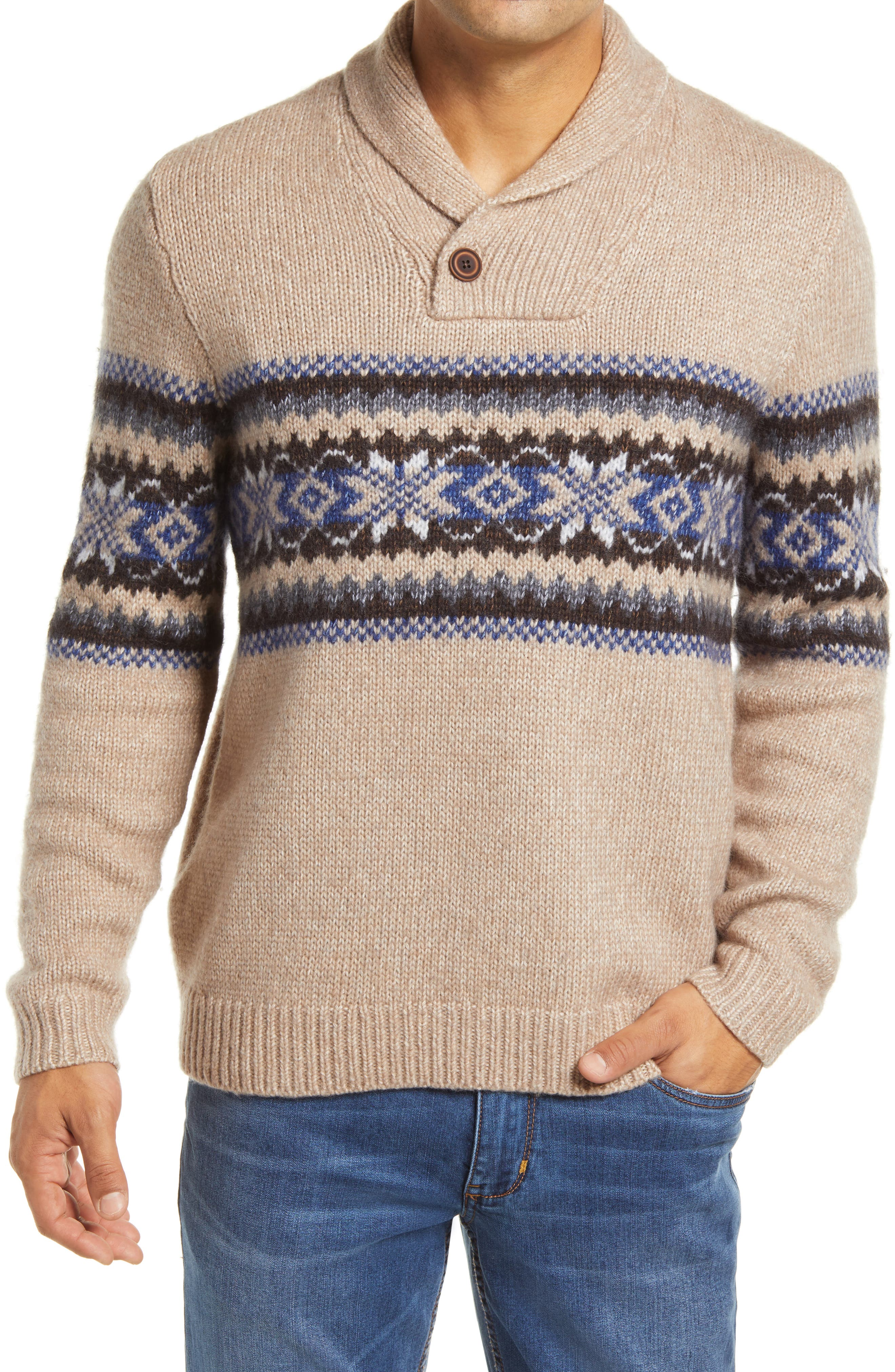 60s 70s Men's Jackets & Sweaters Mens Tommy Bahama Shawl Collar Sweater $228.00 AT vintagedancer.com