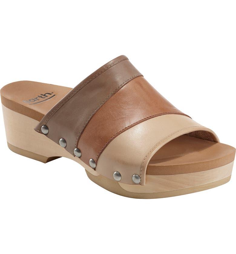 EARTH<SUP>®</SUP> Tiga Slide Sandal, Main, color, NUDE LEATHER