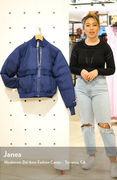 Padded Bomber Jacket, sales video thumbnail