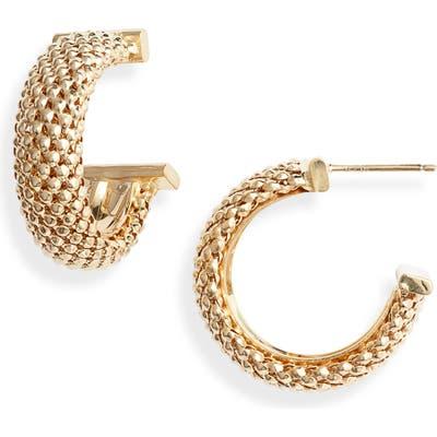 Jennifer Zeuner Lucia Hoop Earrings