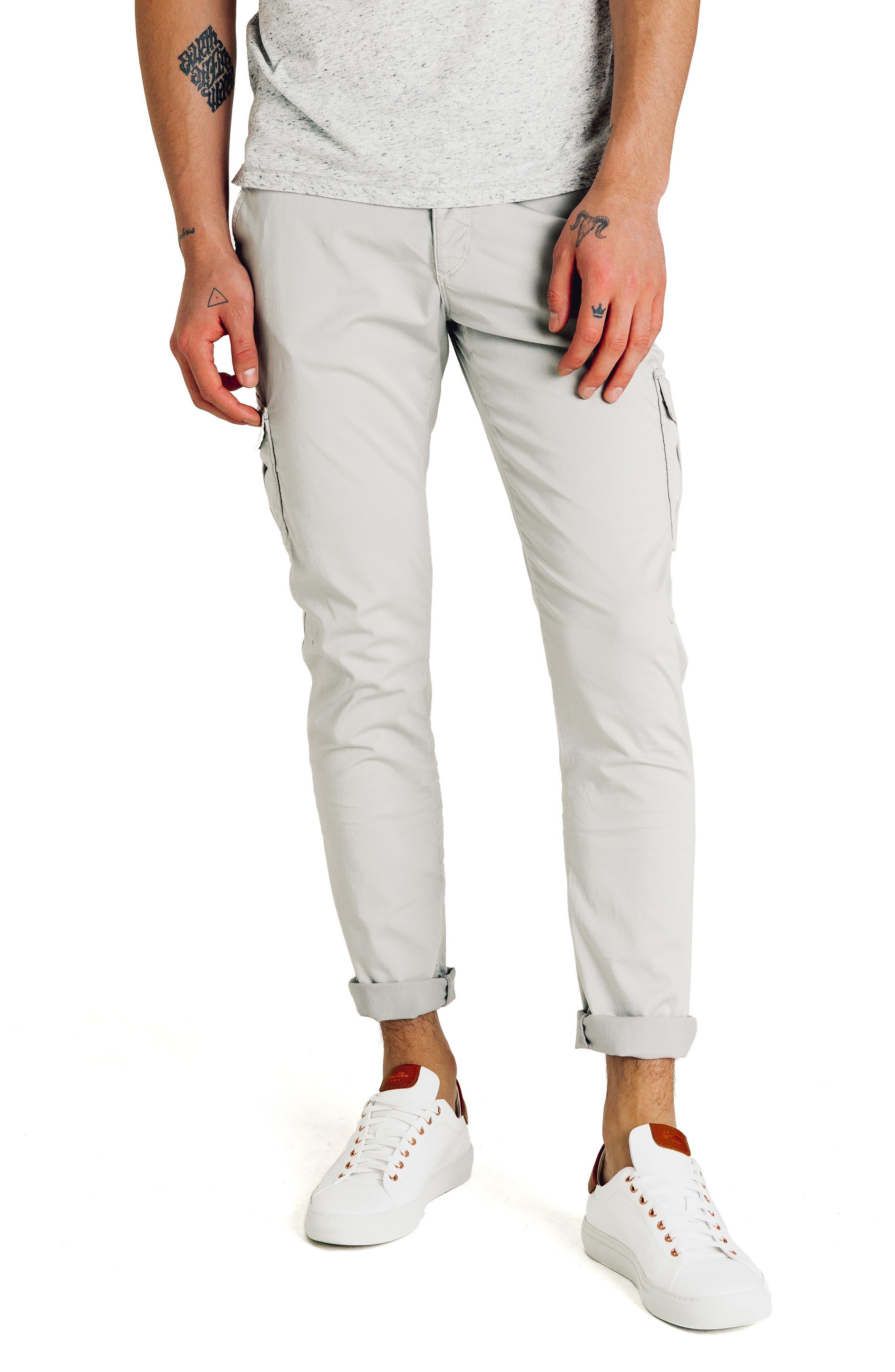 Good Man Brand Jackknife Slim Fit Cargo Pants, Grey