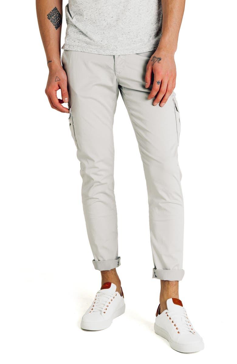 GOOD MAN BRAND Jackknife Slim Fit Cargo Pants, Main, color, ALLOY