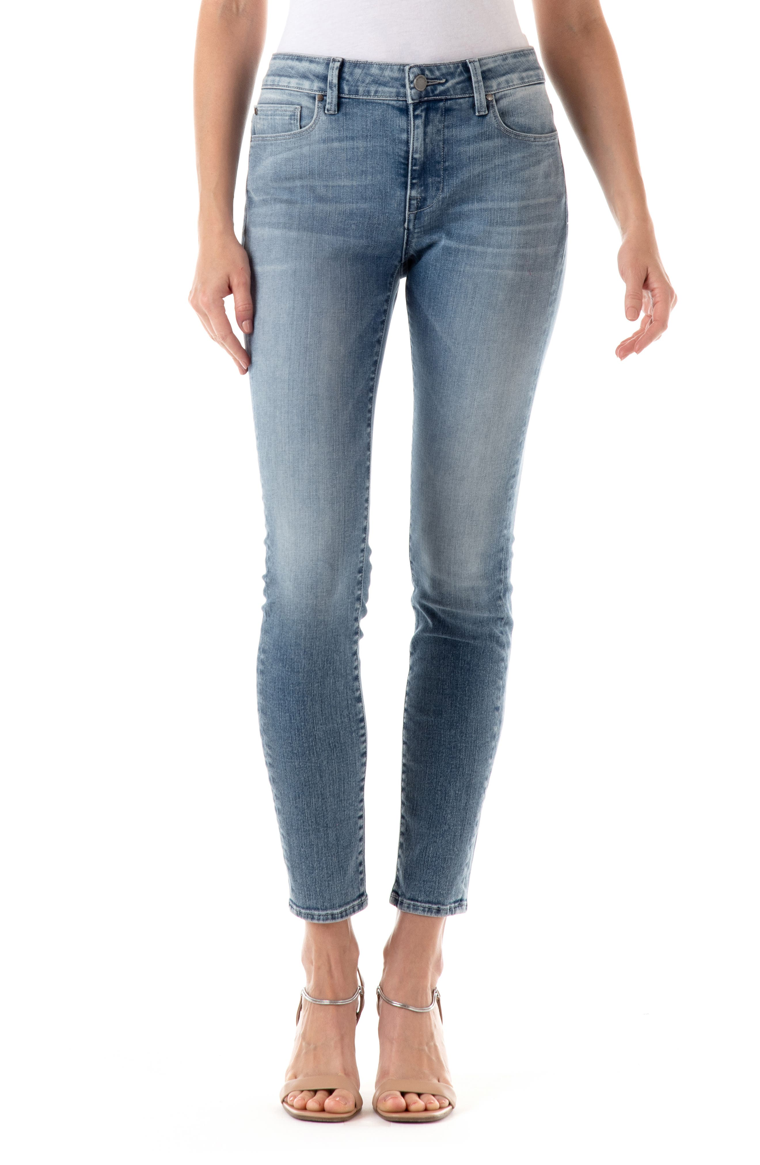 Sola Mid Rise Skinny Jeans