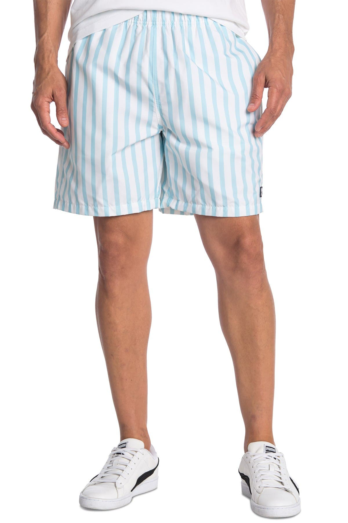 PUMA | Downtown Striped Shorts