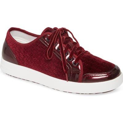 Alegria Lyriq Sneaker, Burgundy