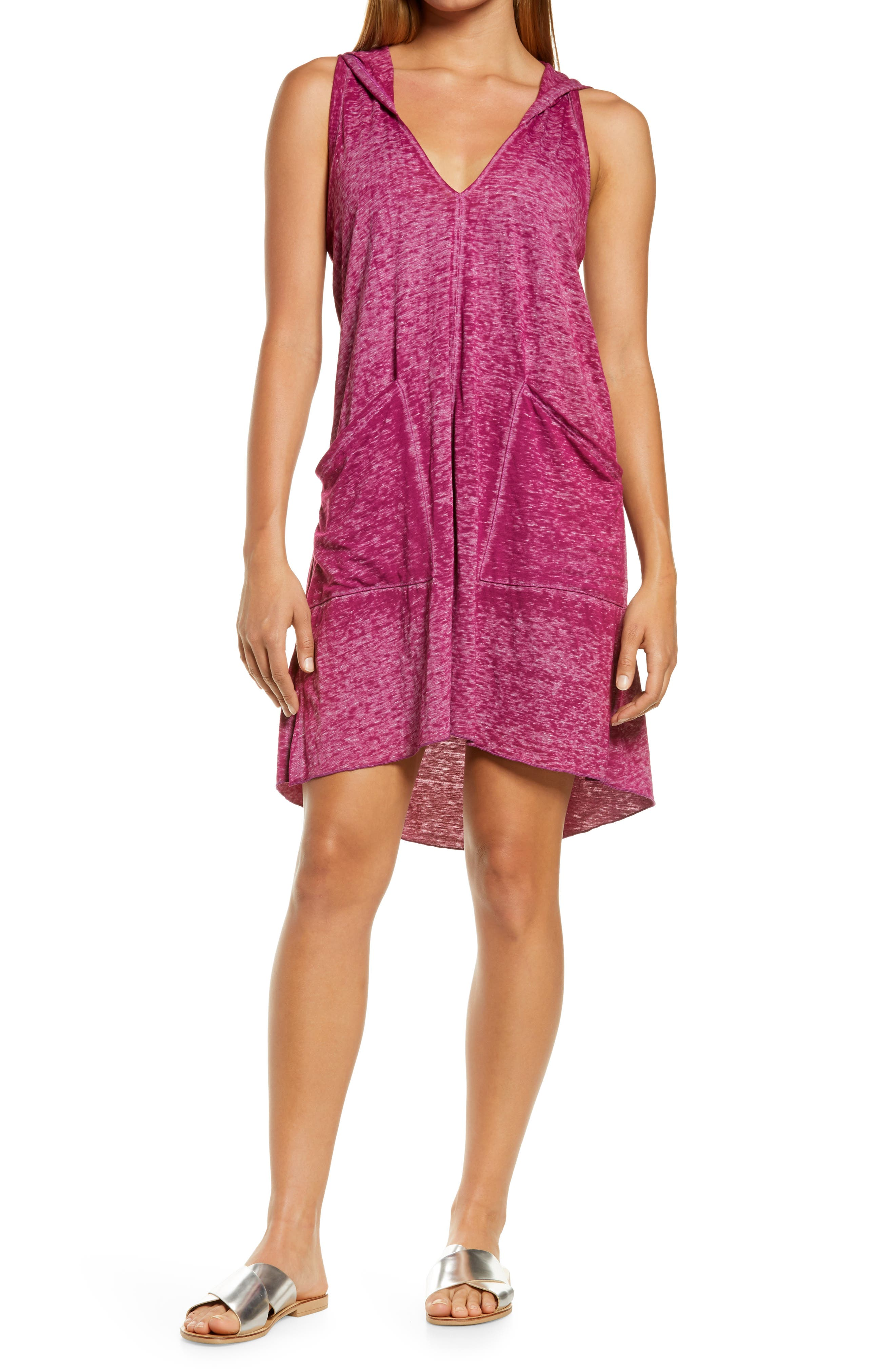 Beach Date Hooded Cover-Up Dress
