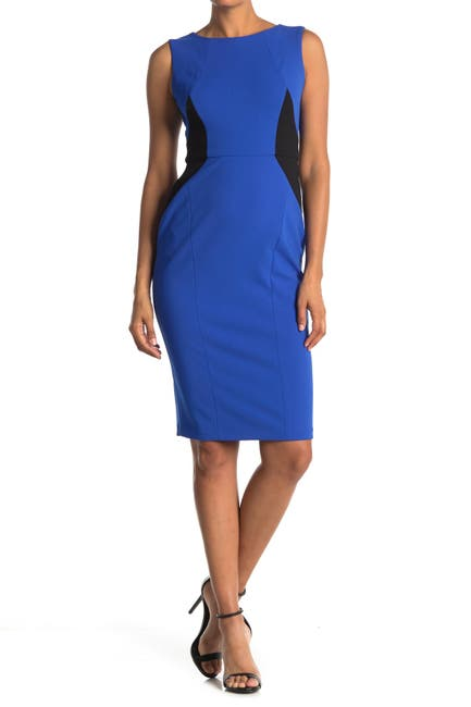 Image of Maggy London Colorblock Bodycon Sheath Dress