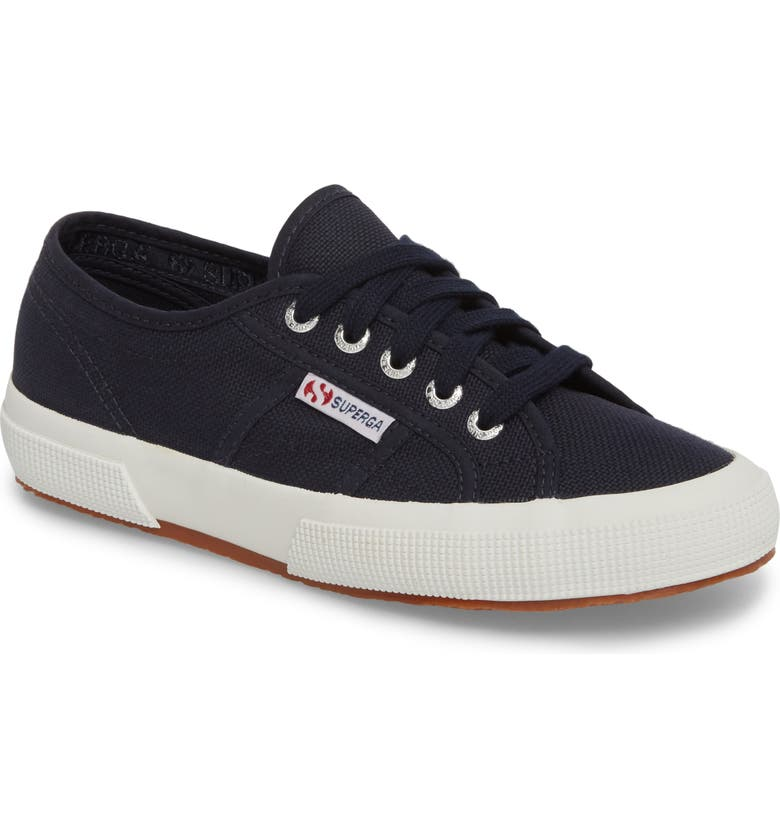SUPERGA 'Cotu' Sneaker, Main, color, NAVY/ WHITE
