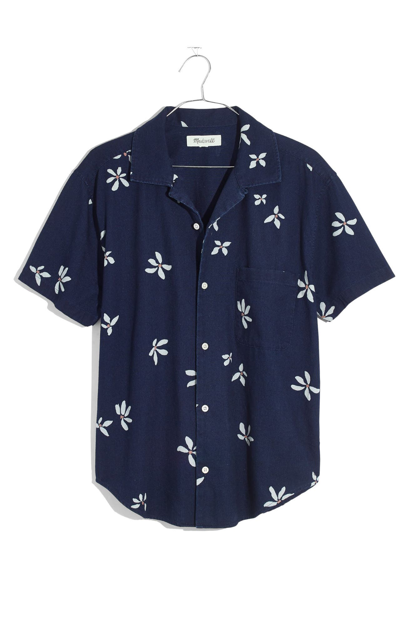 Madewell Floral Easy Button-Up Camp Shirt | Nordstrom