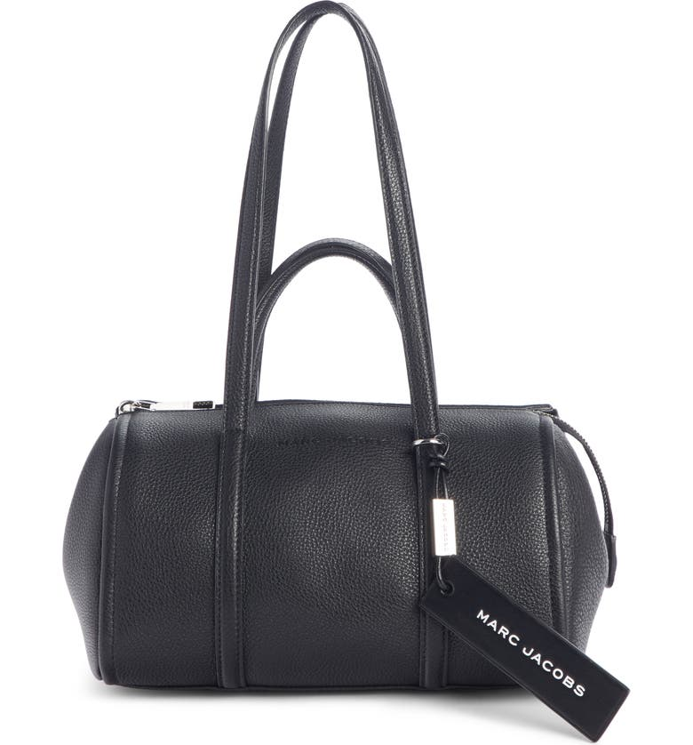 THE MARC JACOBS MARC JACOBS The Tag 26 Bauletto Leather Bag, Main, color, 001