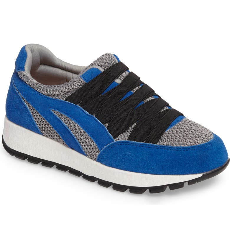 BERNIE MEV. Bernie Mev Tara Cano Sneaker, Main, color, ROYAL BLUE/ GREY FABRIC