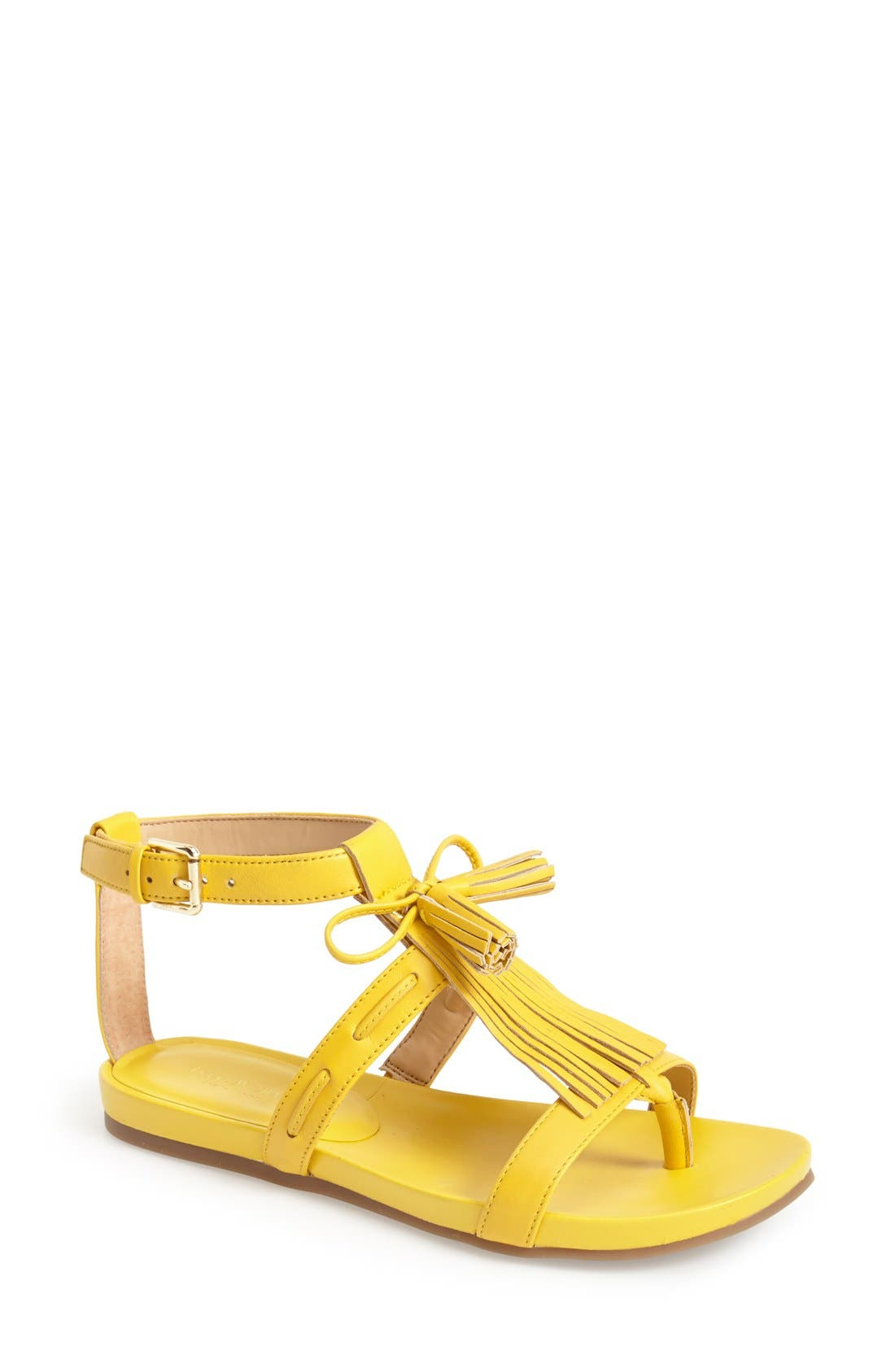 ,                             'Primp' Leather Fringe Sandal,                             Main thumbnail 13, color,                             720