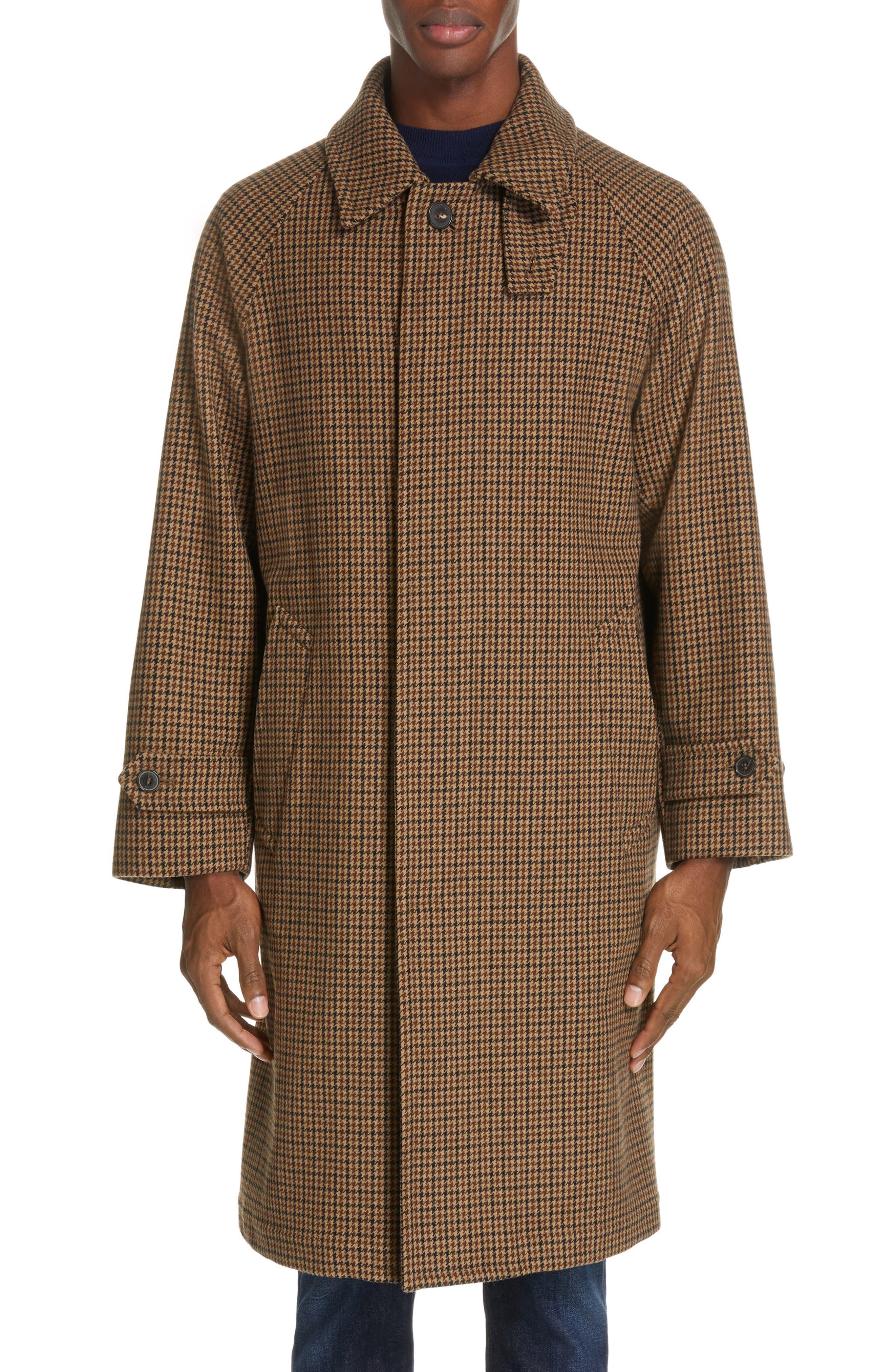 ,                             Gents Gun Club Check Virgin Wool Coat,                             Alternate thumbnail 2, color,                             GUNCLUB