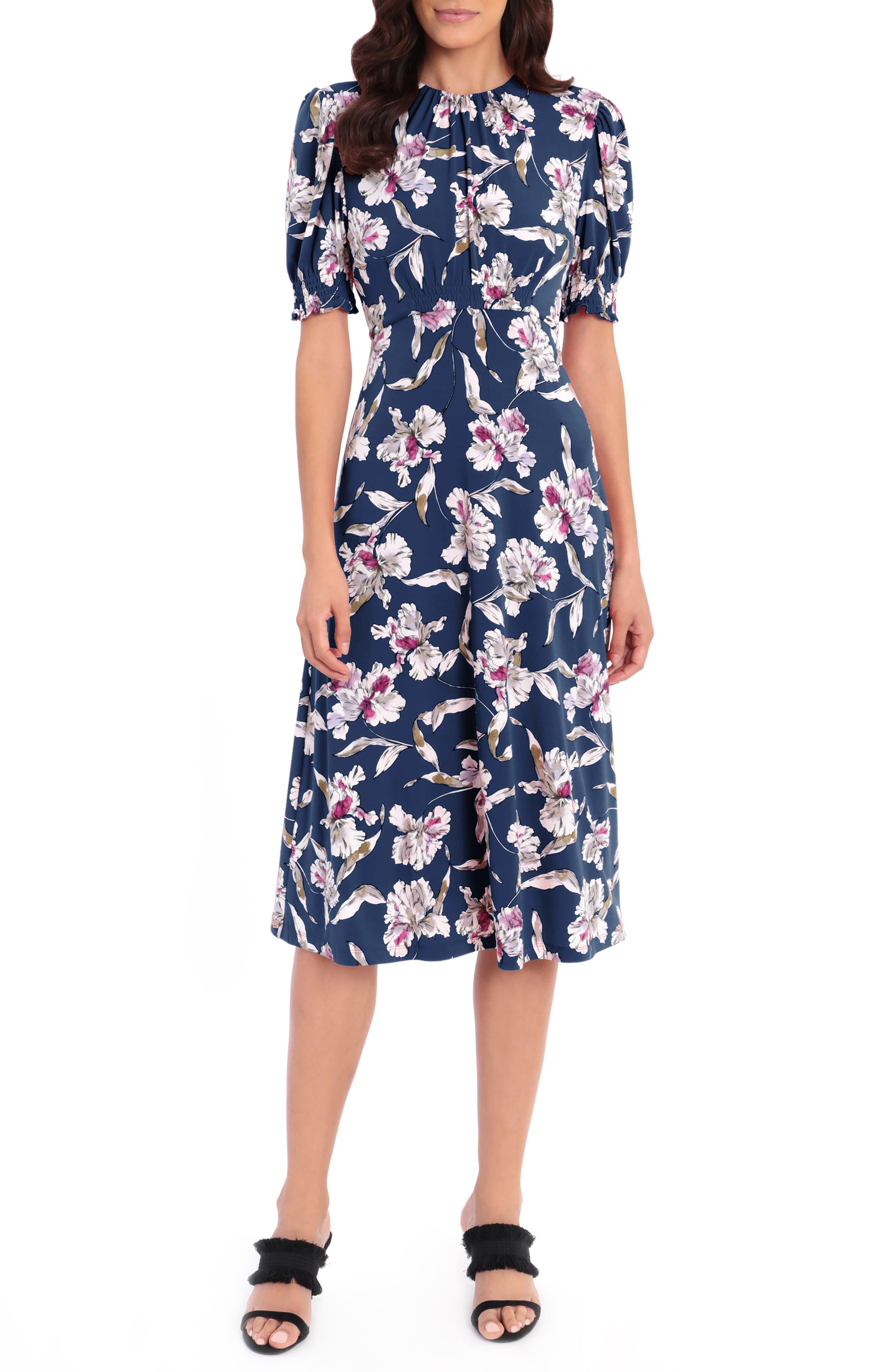 Matte Jersey Midi Dress