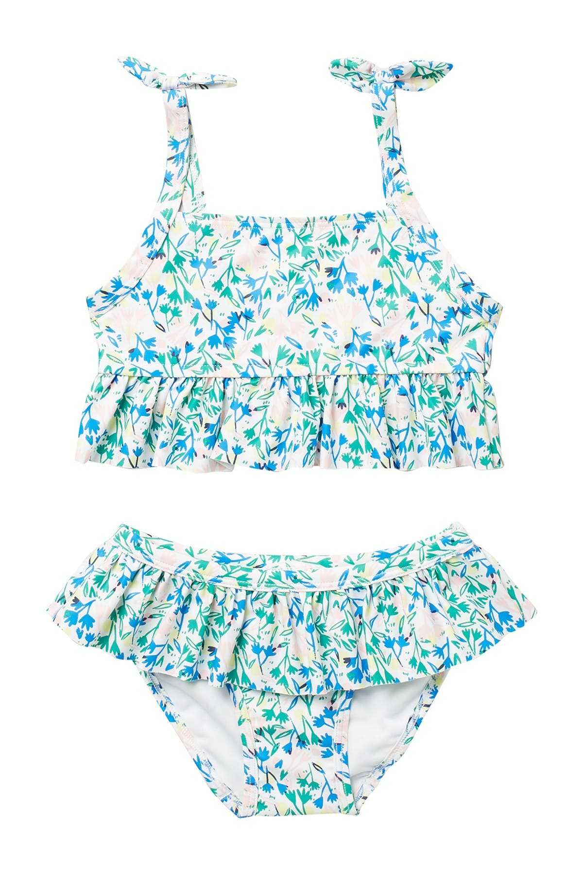 Image of Harper Canyon Ruffle Trim Tankini Swimsuit