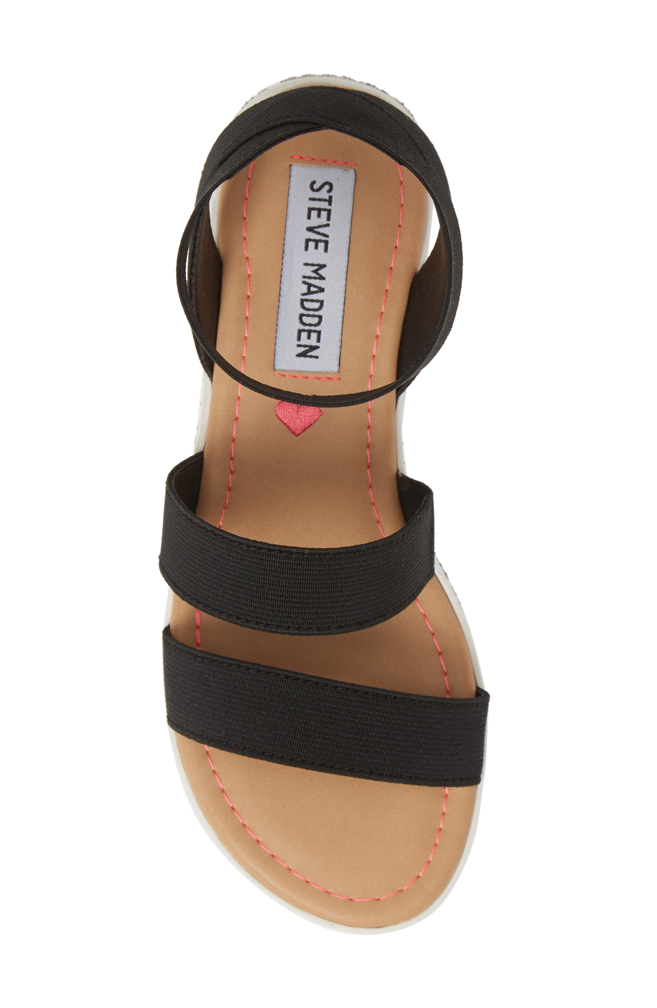,                             JKIMMA Glitter Sandal,                             Alternate thumbnail 5, color,                             BLACK