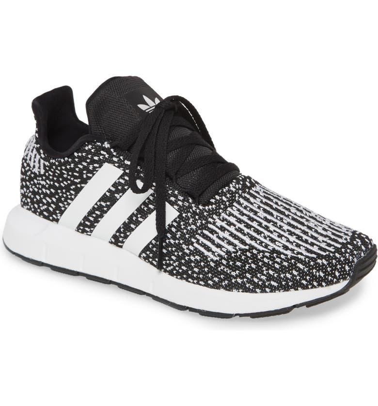 ADIDAS Swift Run Sneaker, Main, color, CORE BLACK/ WHITE/ WHITE