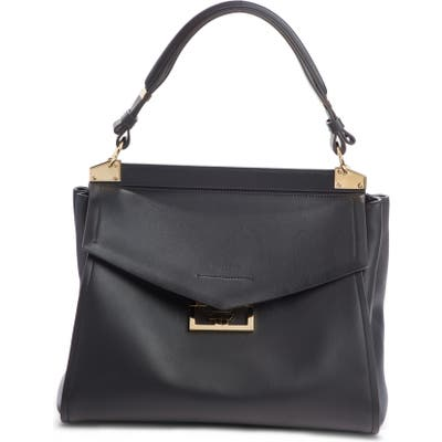 Givenchy Medium Mystic Leather Satchel - Black