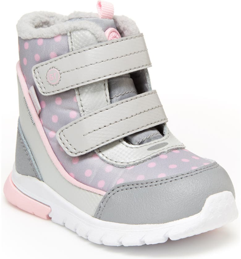 STRIDE RITE Made2Play<sup>®</sup> Shay High Top Sneaker, Main, color, SILVER