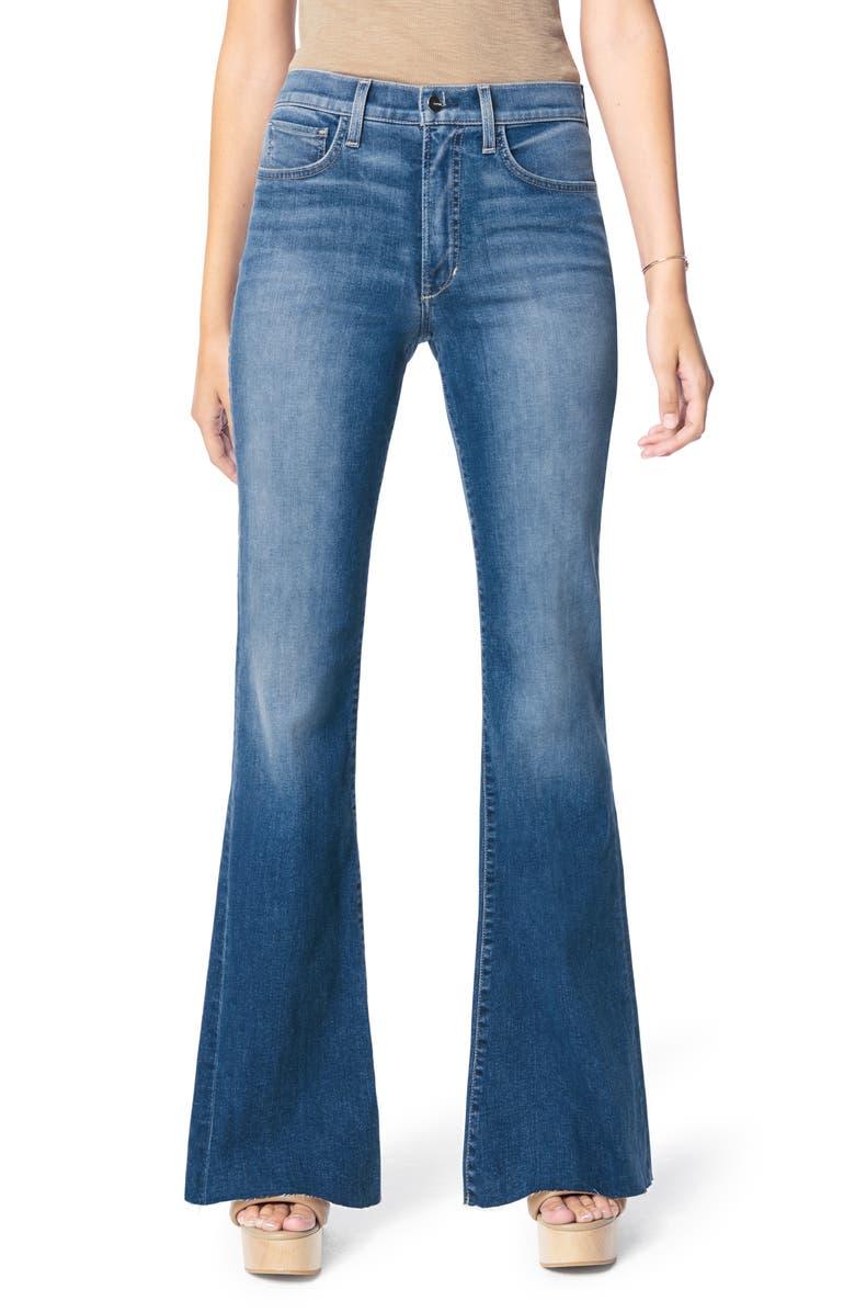 JOE'S The Molly High Waist Flare Jeans, Main, color, SAILOR