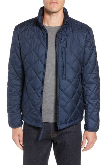 Andrew Marc Humbolt Faux Shearling Lined Quilted Jacket