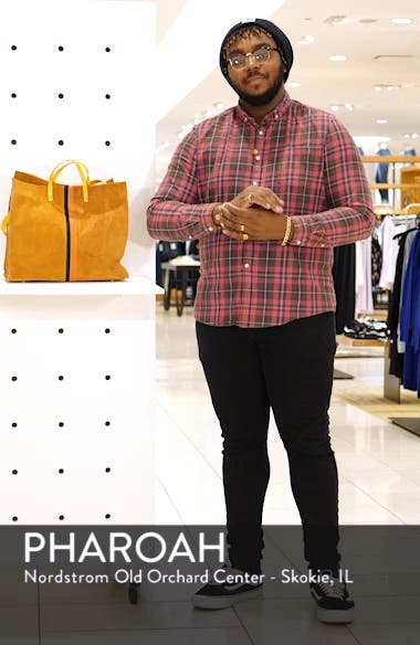 Simple Leather Tote, sales video thumbnail