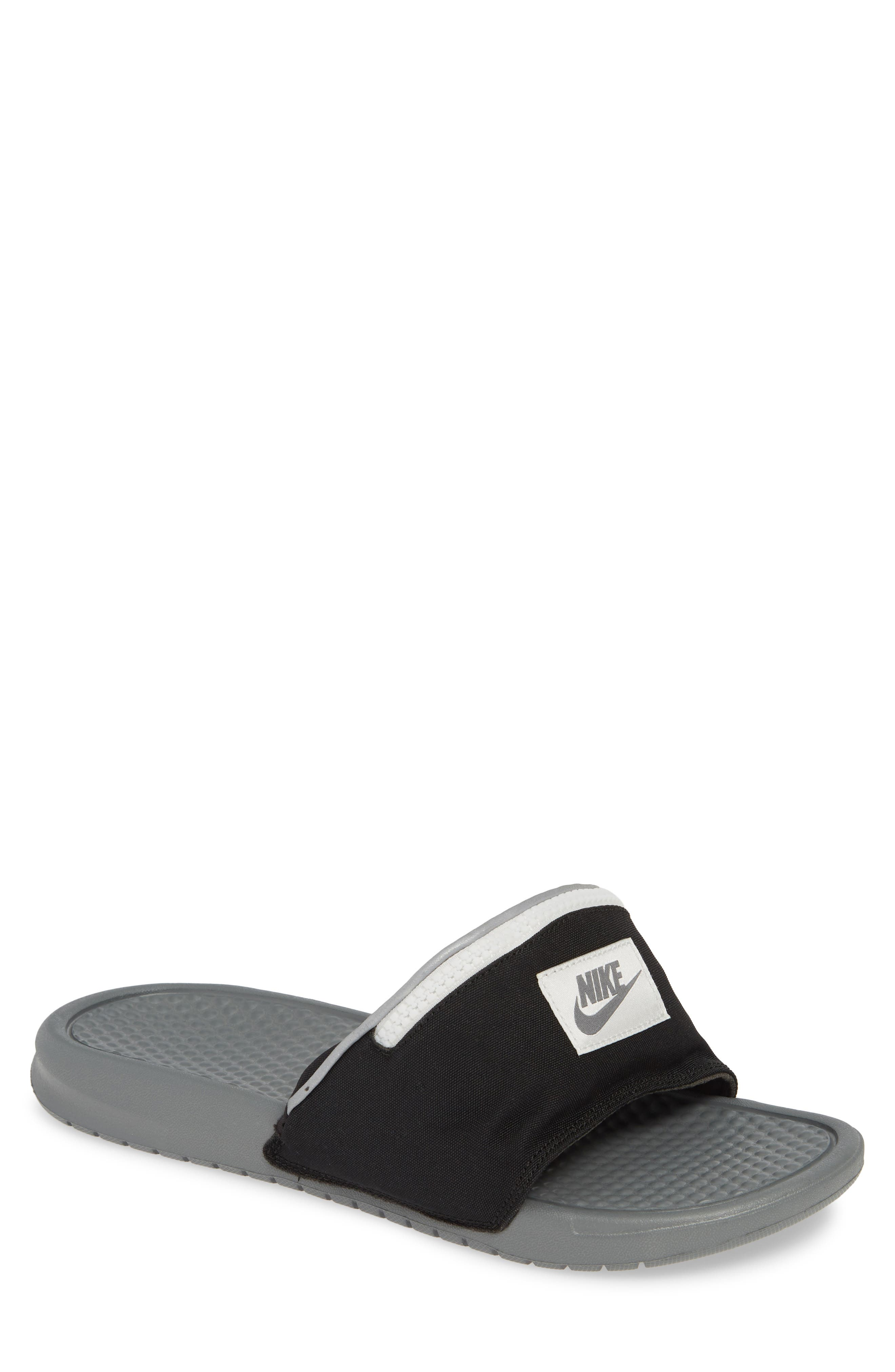 flip flops with fanny pack