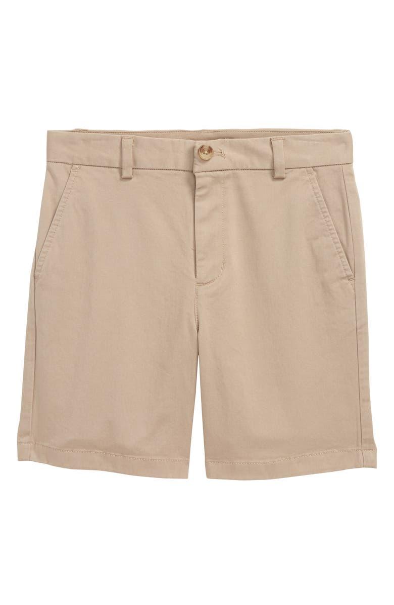 VINEYARD VINES Stretch Breaker Shorts, Main, color, KHAKI