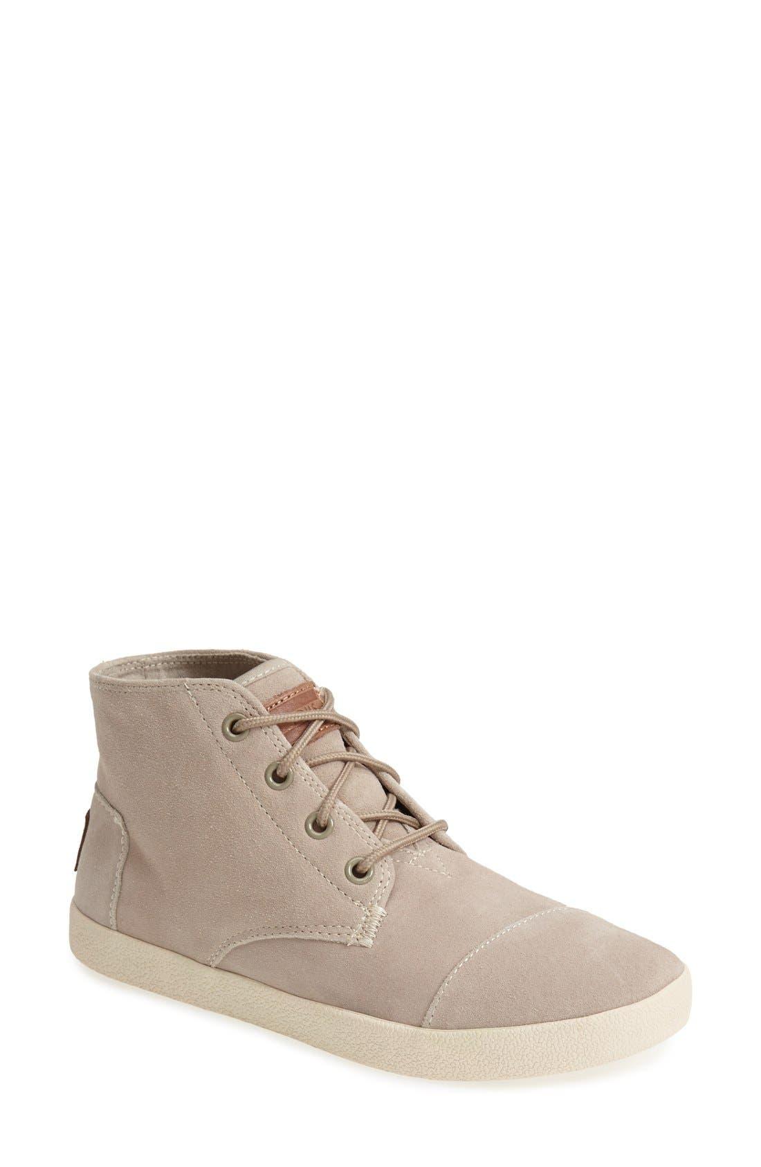 TOMS 'Paseo - High' Sneaker (Women