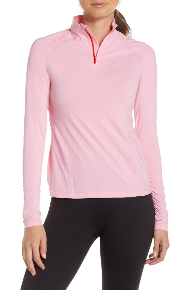 G/FORE Tech First Layer Quarter-Zip Golf Top, Main, color, 650