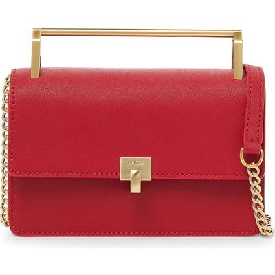 Botkier Lennox Leather Crossbody Bag - Red