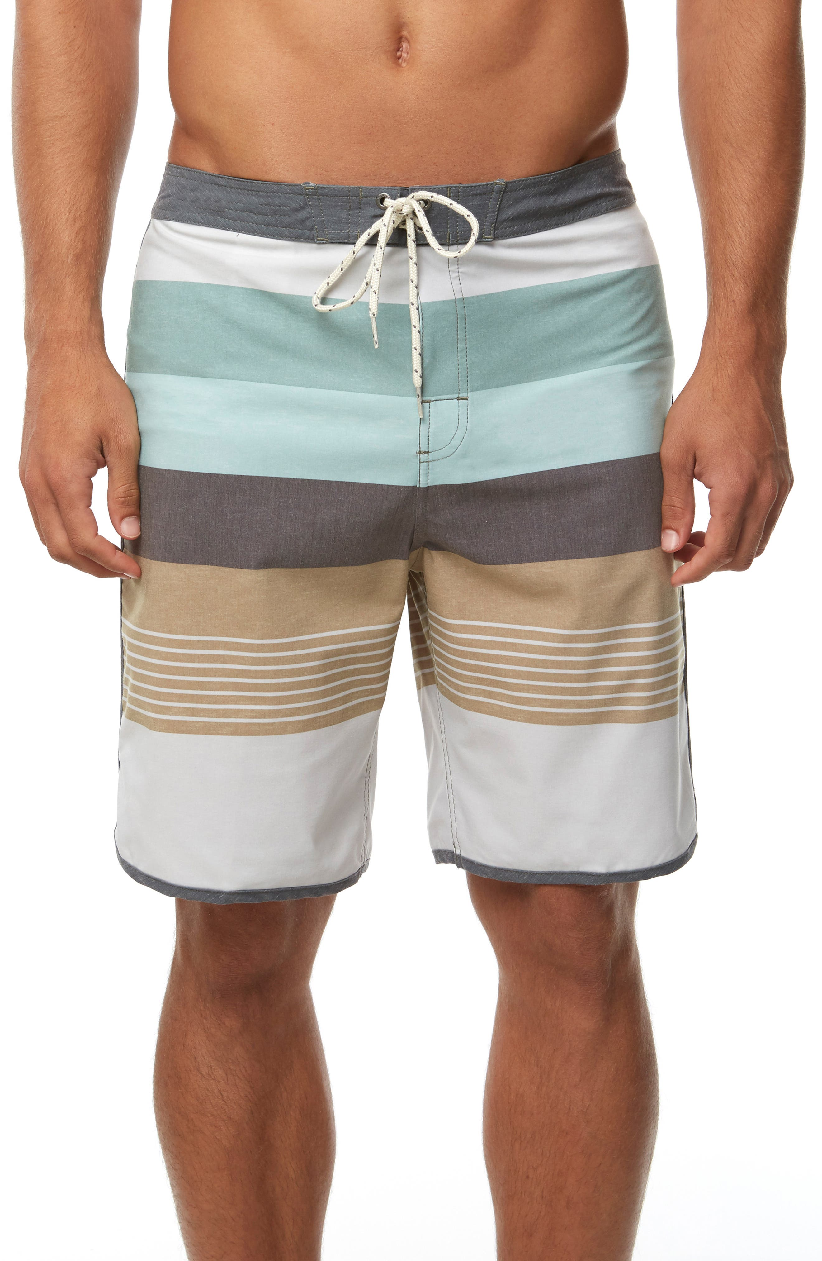 Cosmos Board Shorts, Main, color, FOG