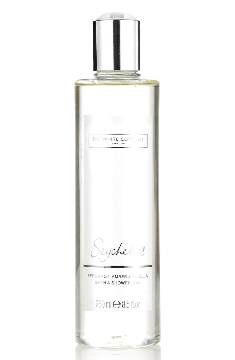 THE WHITE COMPANY Bath & Shower Gel, Main, color, SEYCHELLES