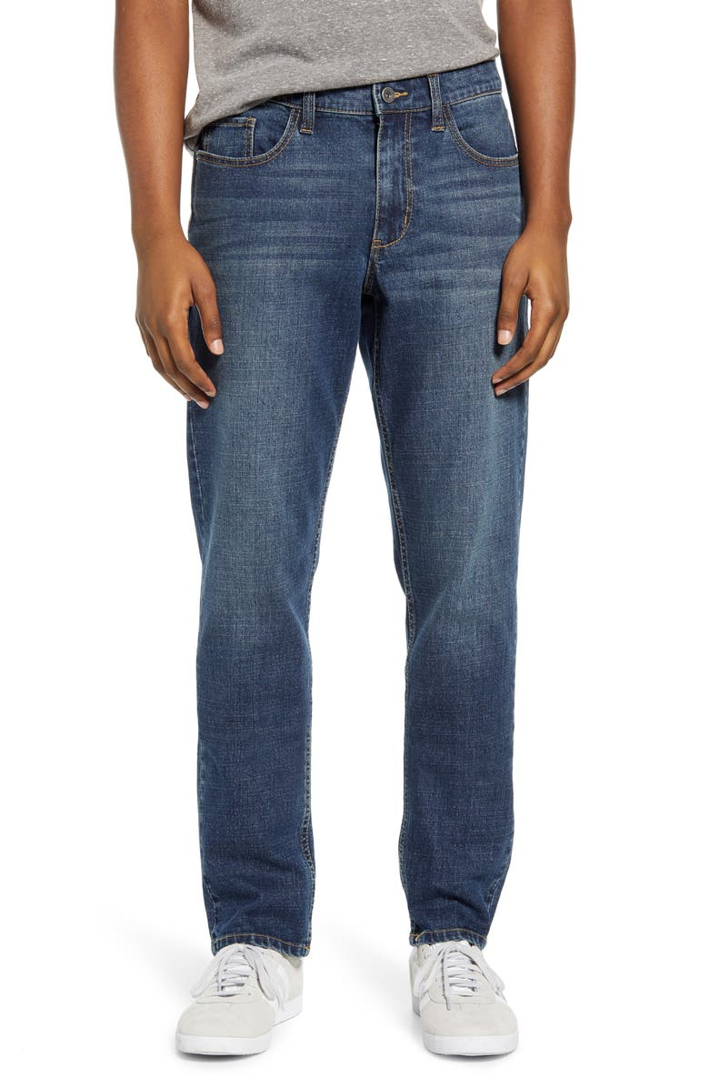 BP. Stretch Skinny Jeans, Main, color, BLUE ADAM WASH