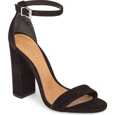 Schutz Enida Strappy Sandal, Black
