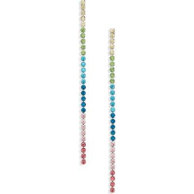 Stella + Ruby Rainbow Drop Earrings
